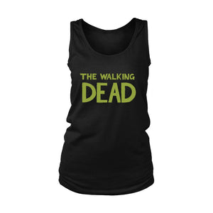The Walking Dead Logo Women's Tank Top - Nuu Shirtz