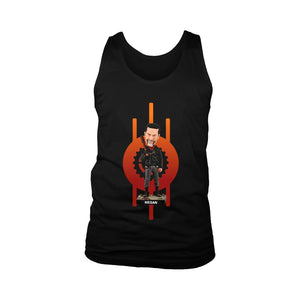 The Walking Dead Negan With Lucille Men's Tank Top