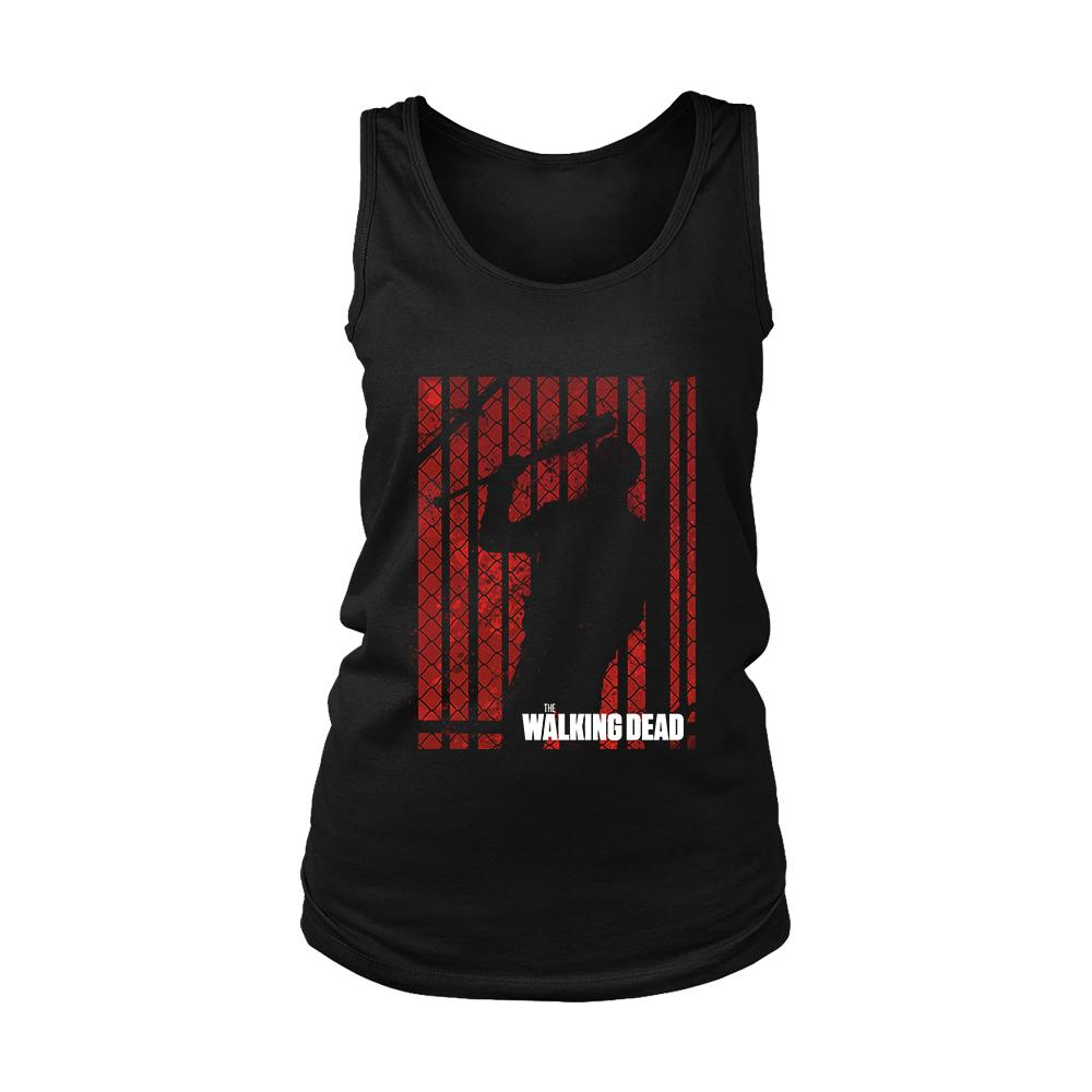 The Walking Dead Silhouette Poster Women's Tank Top - Nuu Shirtz
