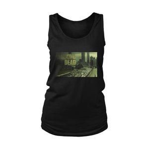The Walking Dead Twd Poster Women's Tank Top