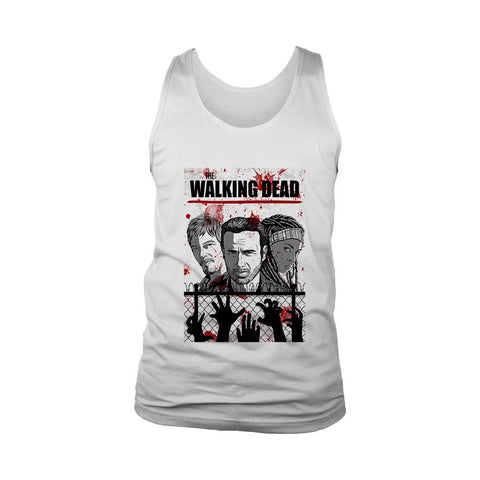 The Walking Dead Twd Poster Men's Tank Top - Nuu Shirtz