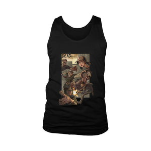 The Walking Dead War Men's Tank Top - Nuu Shirtz