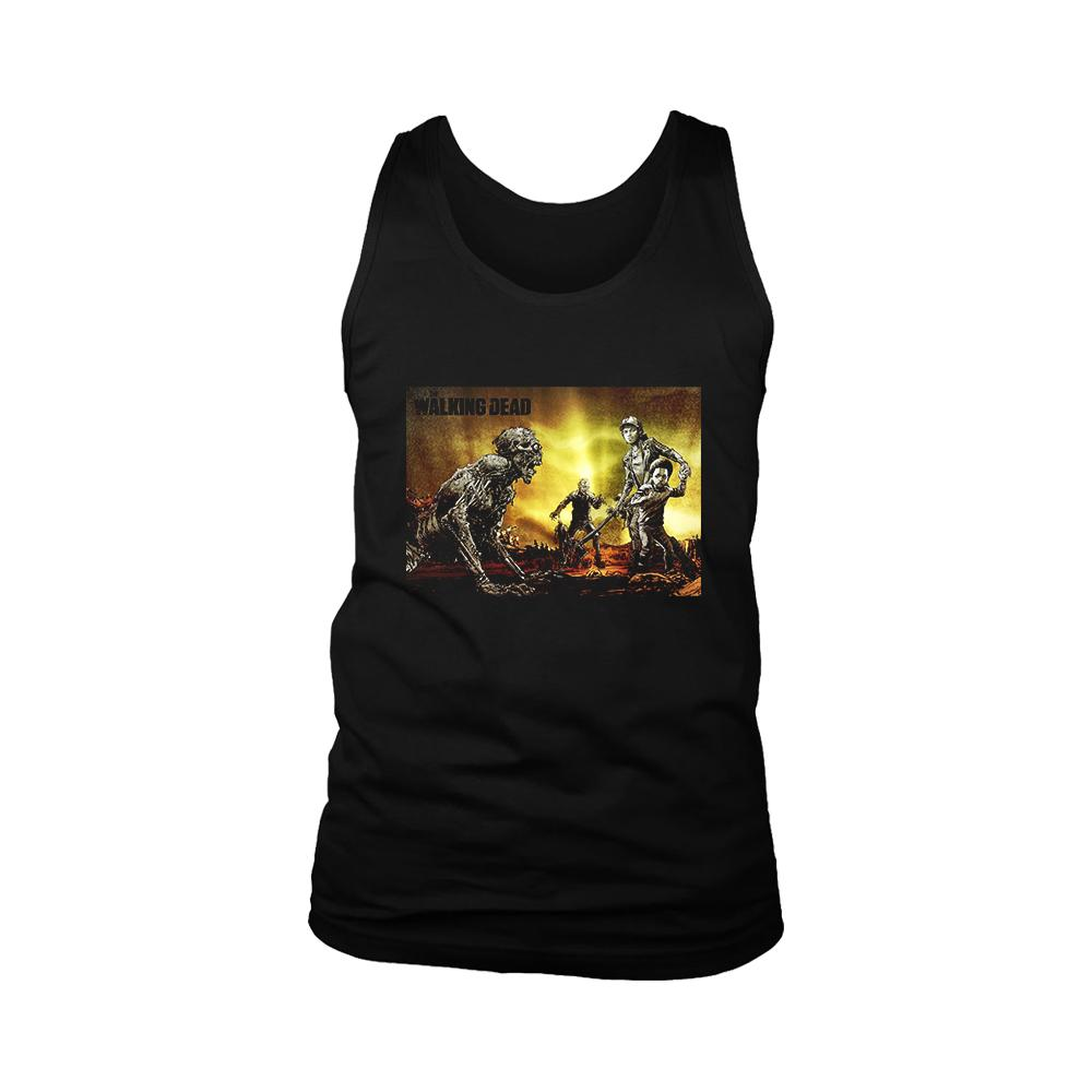 The Walking Dead Zombies Poster Men's Tank Top - Nuu Shirtz