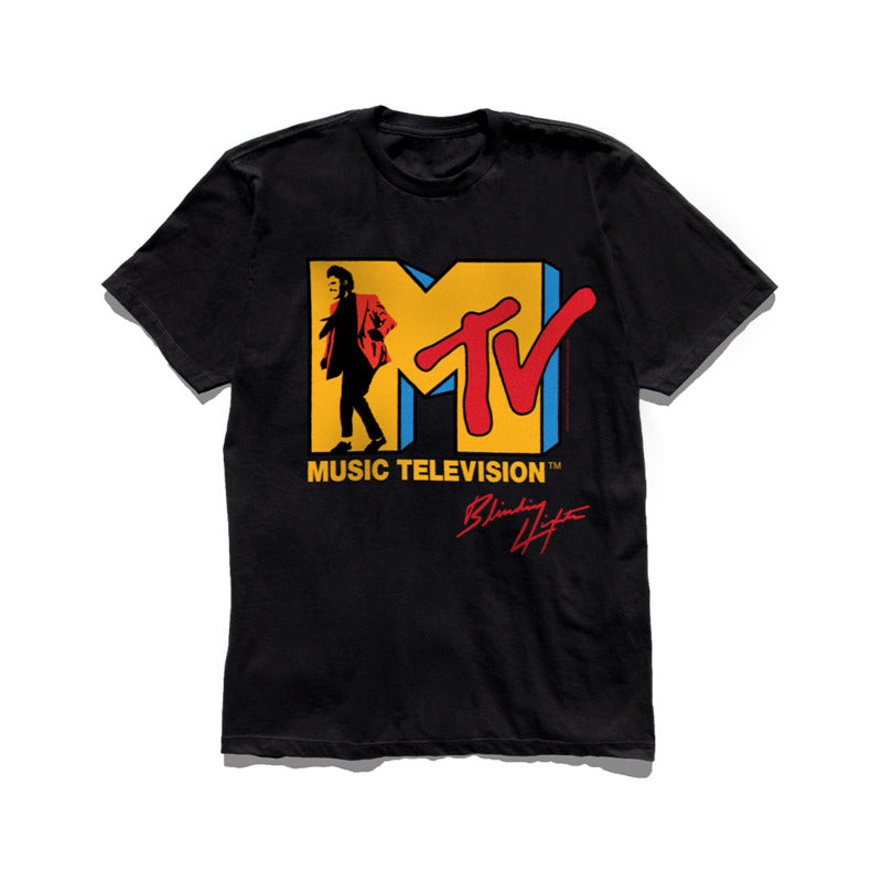 The Weeknd X Mtv Blinding Lights Men's T-Shirt - Nuu Shirtz