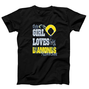 This Girl Loves Big Diamonds Milwaukee Men's T-Shirt - Nuu Shirtz