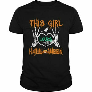 This Girl Loves Halloween Men's T-Shirt - Nuu Shirtz