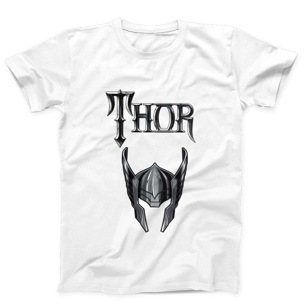 Thor Helmet Marvel Comics Men's T-Shirt - Nuu Shirtz