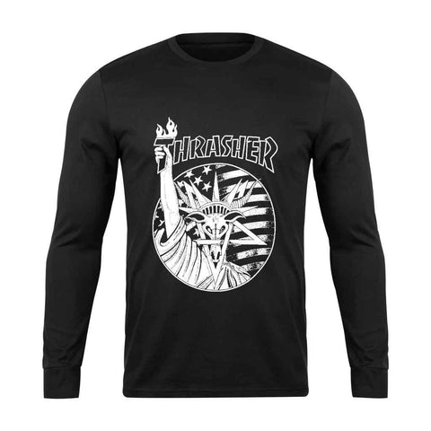 Thrasher Liberty Goat Long Sleeve T-Shirt