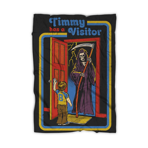 Timmy Has Visitor Blanket