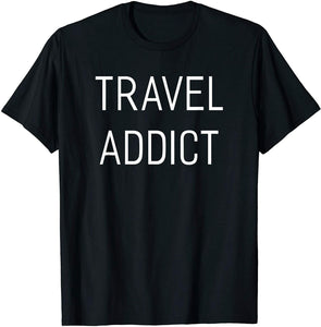 Travel Addict Camping Rv And Outdoor Travel Men's T-Shirt - Nuu Shirtz