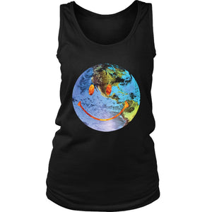 Travis Scott Astroworld Globe Smiley Women'S Tank Top