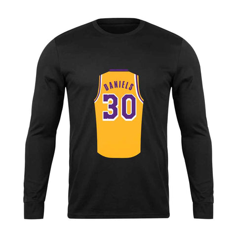 Troy Daniels Jersey Lightweight Lakers Long Sleeve - Nuu Shirtz