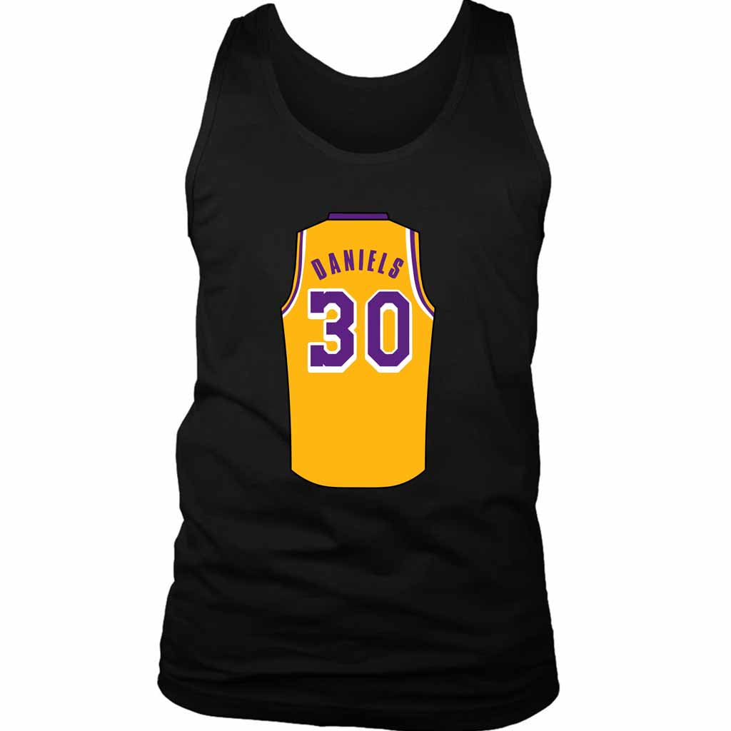 Troy Daniels Jersey Lightweight Lakers Men's Tank Top - Nuu Shirtz
