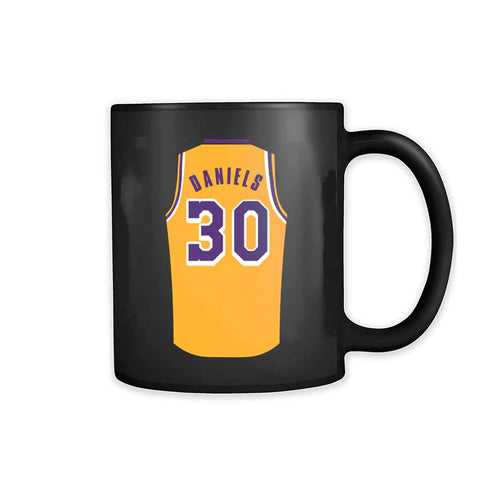 Troy Daniels Jersey Lightweight Lakers 11oz Mug - Nuu Shirtz