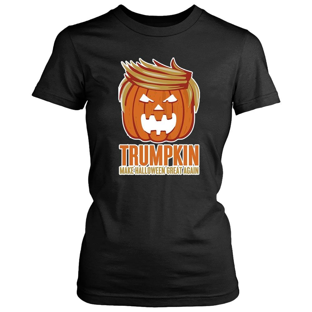 Trumpkin Trump The President Of Pumpkin Women's T-Shirt - Nuu Shirtz