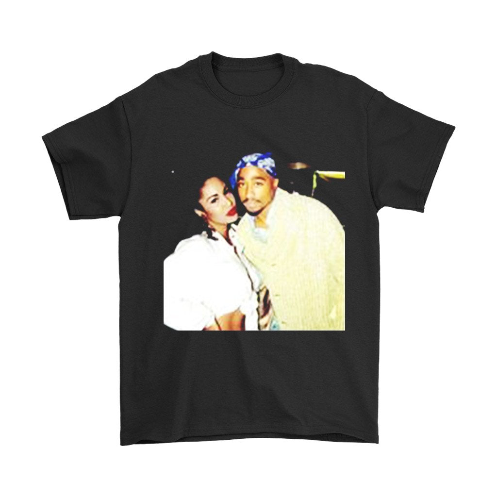 Tupac And Selena Quintanilla Men'S T-Shirt