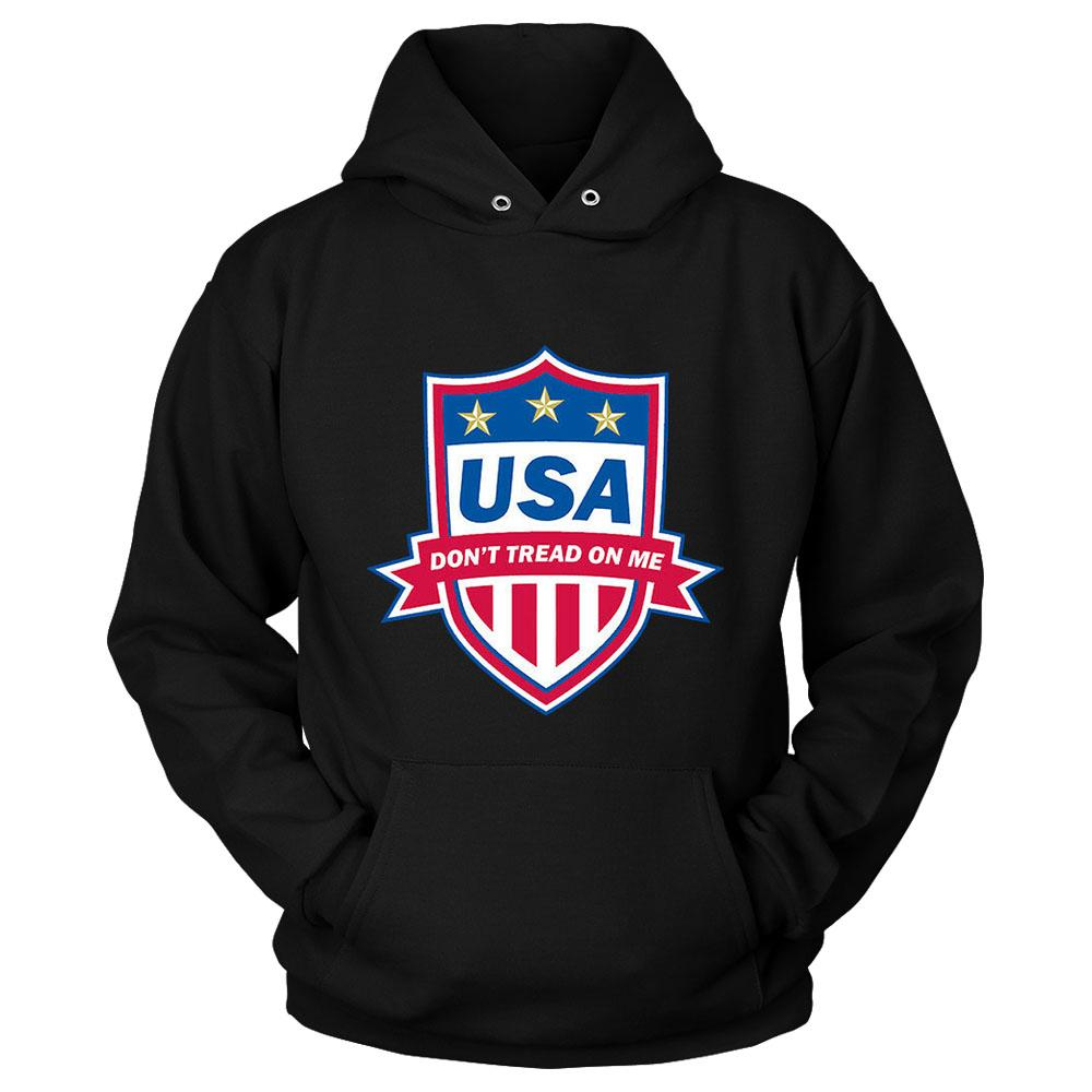 Usa Do Not Tread On Me Heroes Unisex Hoodie - Nuu Shirtz