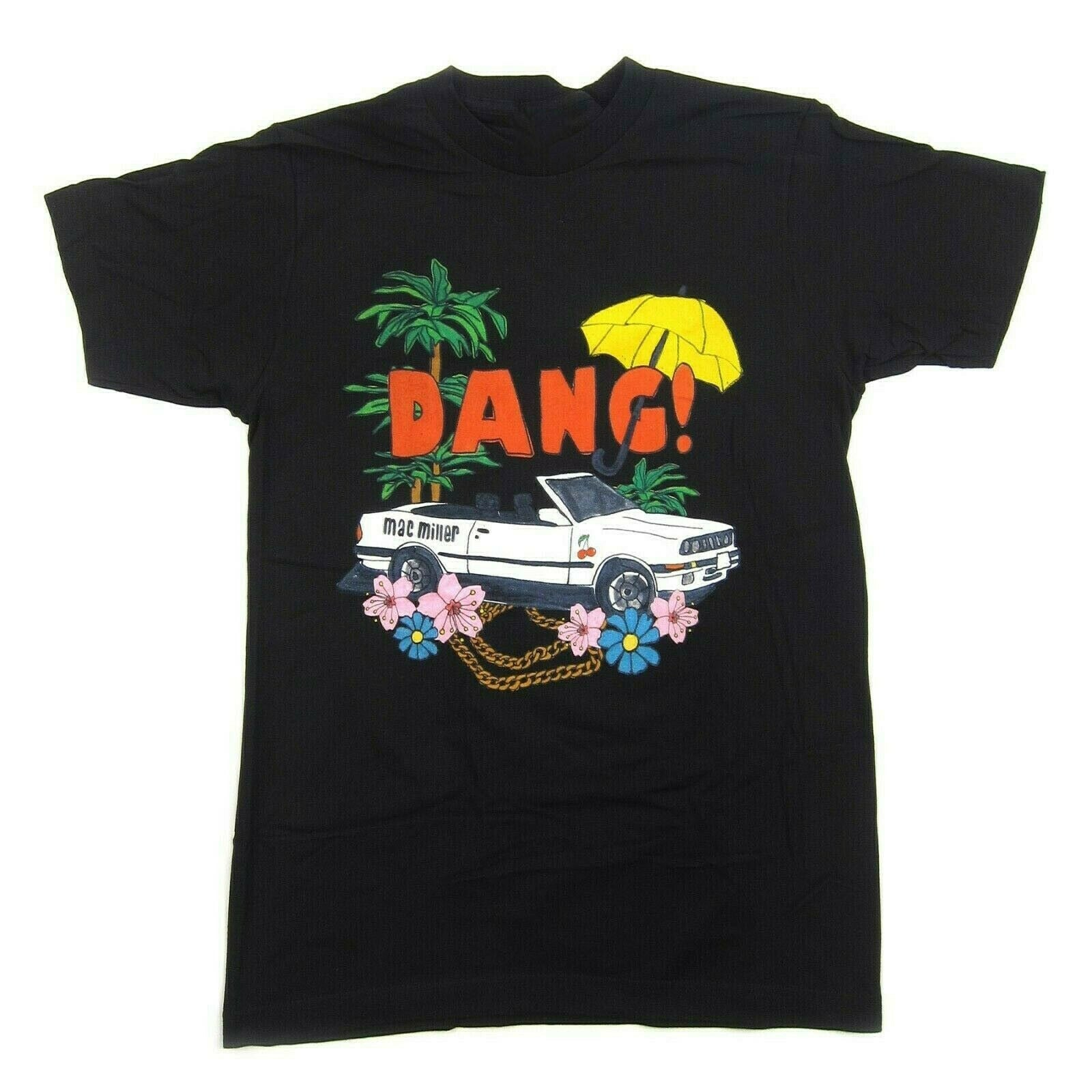Vtg Mac Miller Dang Car Men's T-Shirt