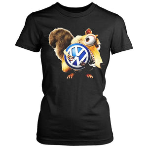 Vw Volkswagen Scrat Ice Age Women's T-Shirt