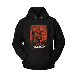 Welcome To Camp Crystal Lake Its A Nice Place To Die Friday The 13th Poster Unisex Hoodie - Nuu Shirtz
