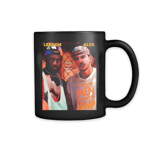White Men Cant Jump Movie Remix Lakers 11oz Mug - Nuu Shirtz