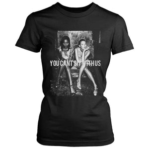 You Cant Sit With Us Sexy Girls Retro Women's T-Shirt