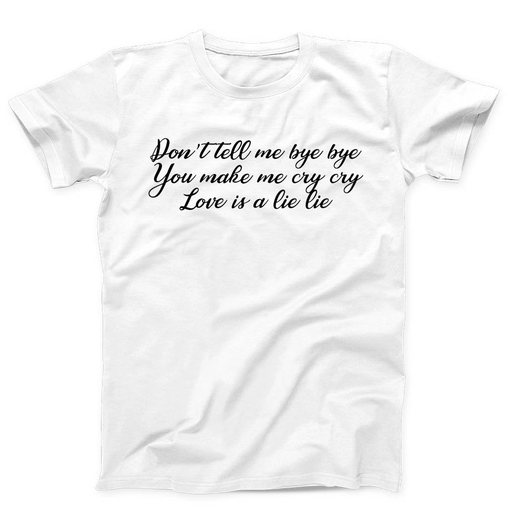 You Make Me Cry Quotes Bts Men's T-Shirt - Nuu Shirtz