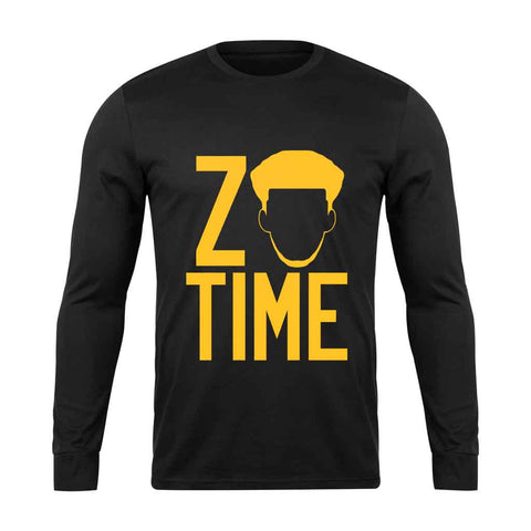 Zo Time Purple Lakers Long Sleeve - Nuu Shirtz