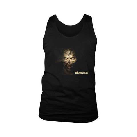 Zombi The Walking Dead Poster Men's Tank Top - Nuu Shirtz