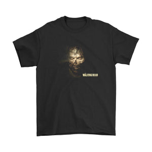Zombi The Walking Dead Poster Men's T-Shirt - Nuu Shirtz