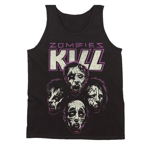 Zombies Kill The Band Men's Tank Top - Nuu Shirtz