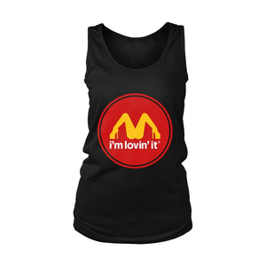im lovin it mcdonalds parody Women's Tank Top