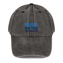 Load image into Gallery viewer, Vintage Music Matters Hat