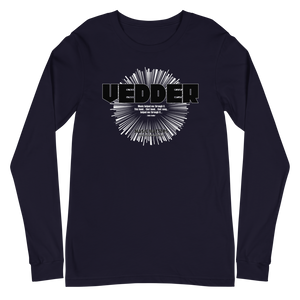 Eddie Vedder Unisex Long Sleeve Tee