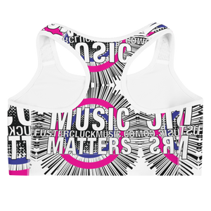 Music Matters Graphic Sports Bra