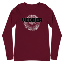Load image into Gallery viewer, Eddie Vedder Unisex Long Sleeve Tee