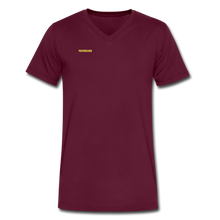 Load image into Gallery viewer, Men's SignatureFuster V-Neck T-Shirt - maroon