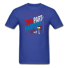Load image into Gallery viewer, Vote for Harmony 2020 Unisex Adult Tagless T-Shirt - royal blue