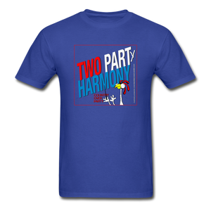 Vote for Harmony 2020 Unisex Adult Tagless T-Shirt - royal blue