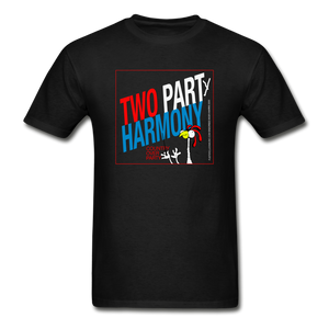 Vote for Harmony 2020 Unisex Adult Tagless T-Shirt - black