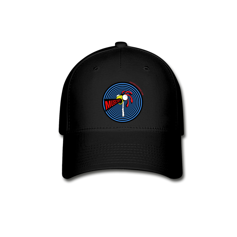 Music Matters Baseball Cap - black