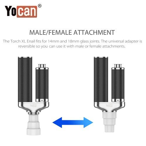 6 Yocan Torch XL 2020 Edition Male Female Adaptor Yocan Wholesale