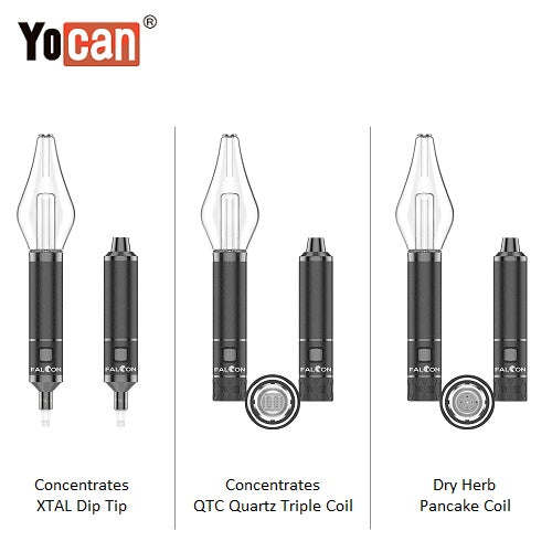 Yocan Falcon Wax and Dry Herb 6 In 1 Vaporizer Kit Yocan Wholesale