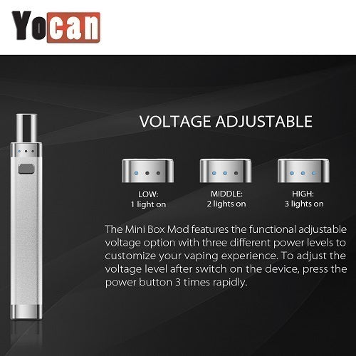 Yocan Delux 2-In-1 Box Wax and Thick Oil Mod Kit