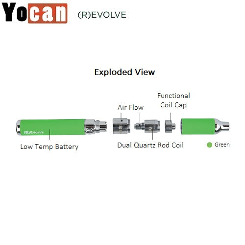(R)Evolve Wax Vaporizer Pen by Yocan
