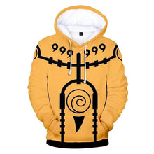 Load image into Gallery viewer, Naruto 3D Hoodie (Sale - 70% Off)