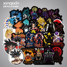 Load image into Gallery viewer, FREE 100pcs Dragon Ball Anime Waterproof Stickers