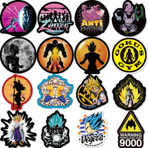 FREE 100pcs Dragon Ball Anime Waterproof Stickers