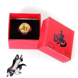 Naruto Adjustable Akatsuki Ring With Box