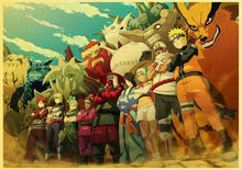 Load image into Gallery viewer, [Sale] Naruto Shippuden Poster (Buy 3 Get 1 Free)